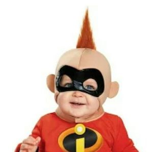 NEW Incredibles Baby Jack-Jack mask